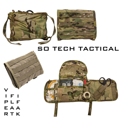 S O  TECH TACTICAL VIPER FLAT IFAK | C2MS - COMBAT CASUALTY